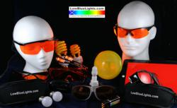 No-blue glasses, bulbs and filters available from LowBlueLights.com